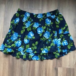 Abercrombie and Fitch flower skirt
